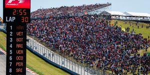 Formula 1 will return to Austin, Texas in 2019 on Nov. 3.
