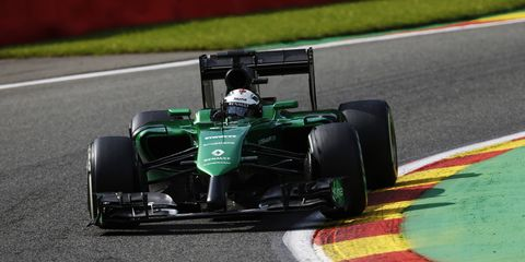 Despite taking a seat for Caterham this weekend, Andre Lotterer is not planning a full time move to Formula One.