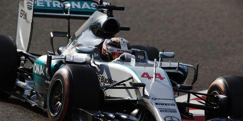 Lewis Hamilton won the Japanese Grand Prix on Sunday.