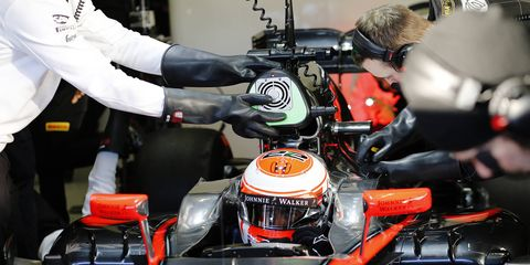 Jenson Button and the McLaren-Honda F1 team has struggled to stay on the track in Jerez.