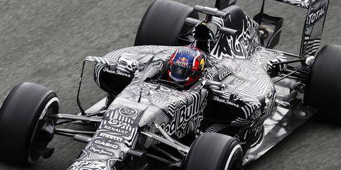 Daniil Kvyat helped Red Bull Racing complete 166 laps at Jerez.