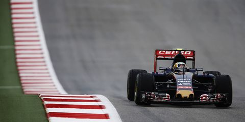 Carlos Sainz said he's fit and ready to go for this weekend's race in Austin. Sainz was involved in a wicked wreck two weeks ago in Sochi.