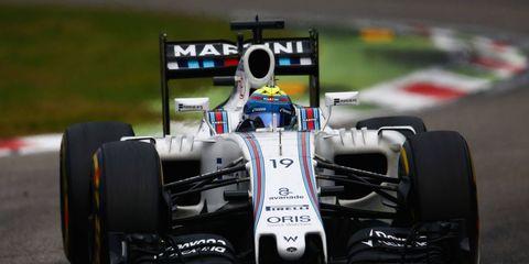Felipe Massa, 35, has started 243 Formula 1 races in his career.