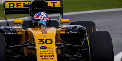 Jolyon Palmer has scored points in just two of 33 career Formula 1 races.