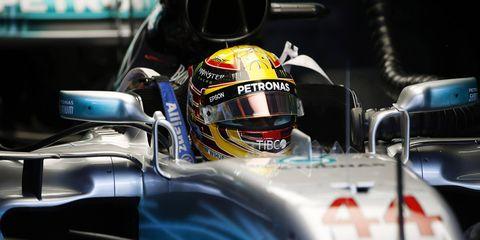 Sights from the F1 action at the Sepang International Circuit, Sepang, Malaysia Saturday Sept. 30, 2017.