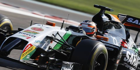 The Force India formula One team is likely to run its 2014 car at a full-field test in Barcelona, Feb. 26-March 1.