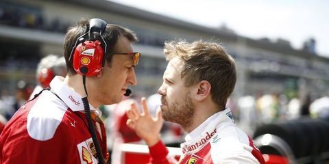 Sebastian Vettel was summoned to a meeting with the FIA stewards following the Mexican Grand Prix.