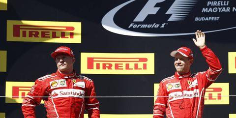Kimi Raikkonen may have saved his job at Ferrari over the weekend thanks to a defensive driving performance intended to keep teammate Sebastian Vettel in the lead.