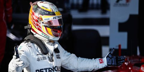 Lewis Hamilton finished second in the Formula 1 season-opening race in Melbourne two weeks ago.