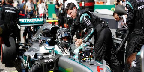 Nico Rosberg has a 26-point lead in the Formula 1 standings with just three races remaining. He could clinch the title on Sunday in Mexico City with a win combined with a Lewis Hamilton finish out of the points.