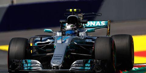 Valtteri Bottas is third in the Formula 1 drivers' standings.