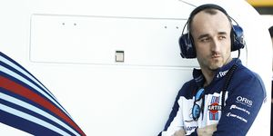 Robert Kubica tested for the Williams team in Barcelona and plans to run some Friday practice sessions on Formula 1 weekends this season.
