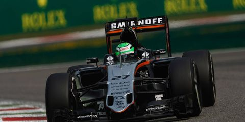 Nico Hulkenberg will be in a Renault machine for the 2017 Formula 1 season.