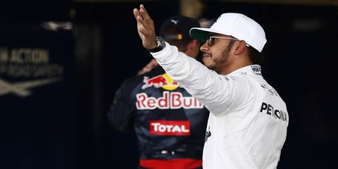 Lewis Hamilton will lead the field to green for the 10th time in 2016 as he captured the pole for the Mexican Grand Prix.