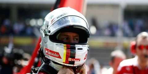 Sebastian Vettel was penalized for changing his racing line under braking during the F1 Mexican Grand Prix. A 10-second penalty dropped him from third to fifth in the finishing order.