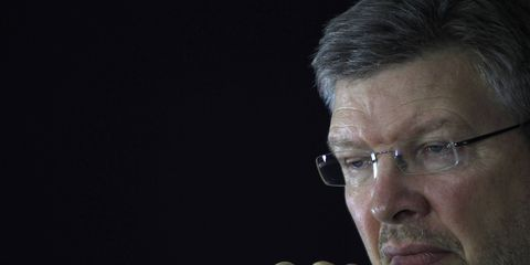 Ross Brawn says he's open to returning to Formula 1, but not with a team.