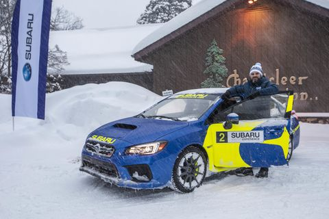 The Chanticleer in hosts the Subaru Winter Experience and provides the appropriate ambiance as well as a kitchen for Chef Daniel to cook Swedish style