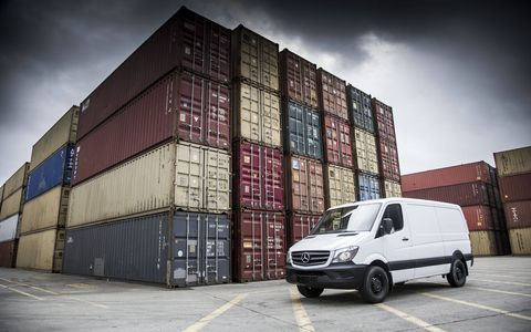 Mercedes-Benz will debut the Sprinter Worker: a budget-friendly version of its Sprinter van at the Chicago auto show.