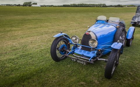 It was cloudy Friday, rained like crazy on Saturday and was beautifully sunny on Sunday. There's so much good wood at Goodwood that it won't all fit into one photo gallery. So here's another!