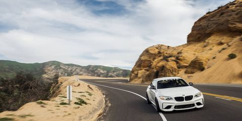 the bmw m2 may already be the best bmw on sale right now but dinan made it even better on the track anyway the s2 m2 gets a bigger turbo a full dinan suspension and even a few cosmetic niceties altogether its almost 82 grand yikes