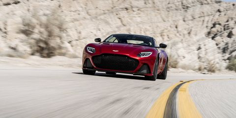 The Aston Martin DBS Superleggera is your 715-hp V12-powered super GT.