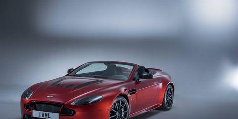 The Aston Martin V12 Vantage S Roadster
