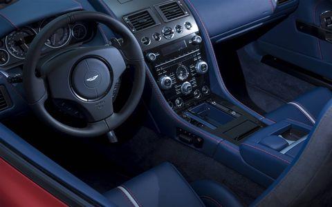Inside the new Aston Martin V12 Vantage S Roadster