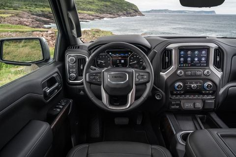 The 2019 GMC Sierra Interior and Details of the new truck