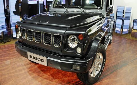 The BJ80C has been in development since 2011.