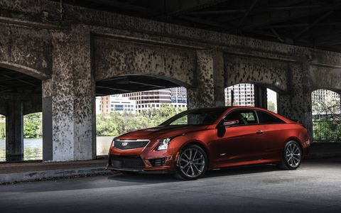 We drive the 2016 Cadillac ATS-V coupe and sedan at the Circuit of the Americas.
