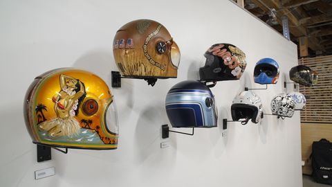 12 different artists contributed Bell Helmet art.