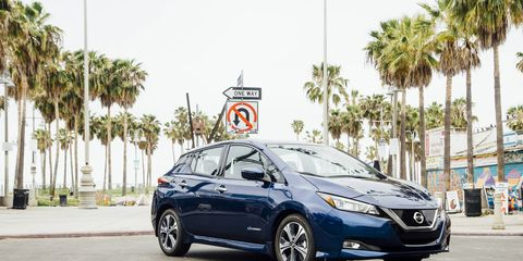 This month, we take a more in-depth look at the new Leaf's semi-autonomous ProPilot Assist feature. Here it is chillin' at the beach in L.A.