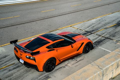 The 2019 Chevy Corvette ZR1 Sebring orange special edition will be available from launch