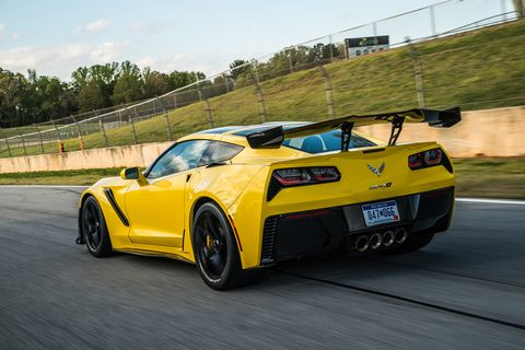 The 2019 Chevrolet Corvette ZR1 has a supercharged LT5 V8 making 755 hp and 715 lb-ft of torque.