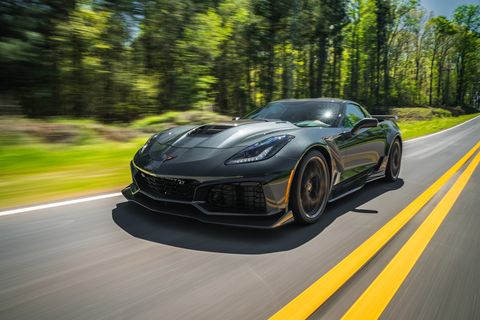 The 2019 Chevrolet Corvette ZR1 is the most extreme production Corvette ever produced.