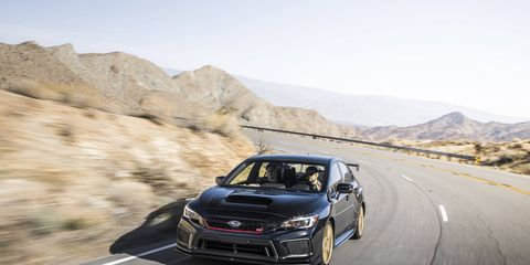"""The Subaru WRX STI Type RA is the first """"RA"""" Subaru to officially come to the United States."""