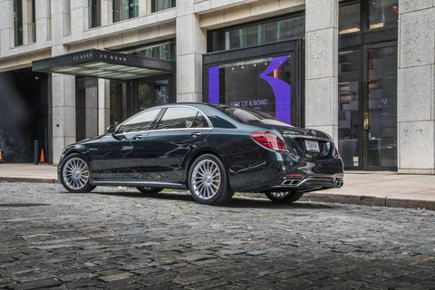 The 2018 Mercedes-AMG S65 gets a V12 making 621 hp and 738 lb-ft of torque.