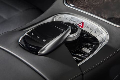 The 2018 Mercedes-AMG S65 comes with massaging multicontour AMG seats, among many other creature comforts.
