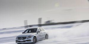 AMG Winter Sporting Drifting