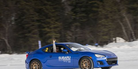You don't have to be into drifting to enjoy the program, you just have to like being on ice and driving.