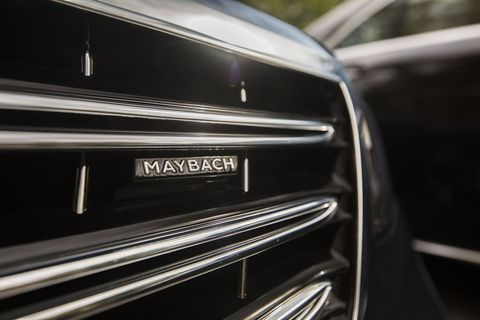The 2018 Mercedes-Maybach gets a 7.9-inch increase in wheelbase over the standard S-Class, benefiting rear-seat passengers.