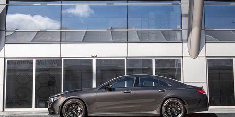 The 2019 Mercedes-AMG CLS53 comes with the company's new turbocharged I6 making 429 hp.