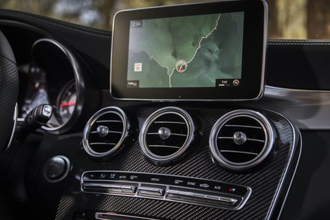 """The 2018 Mercedes-AMG GLC63 SUV also spawned a """"coupe"""" version."""