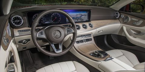 The convertible was the last member of the E-Class family to receive a refresh.