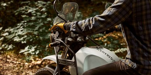 The Royal Enfield Himalayan isn't right for a long highway cruise but is perfect for overlanding adventures.