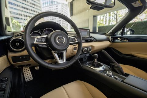 The 2019 Mazda MX-5 Miata gets a new trim level called GT-S.