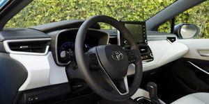 2019 Toyota Corolla Hatchback Interior