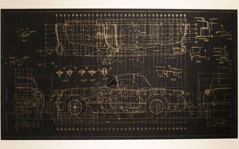 """In conjunction with the North American International Auto Show, Detroit's Scarab Club is hosting a special exhibit, """"American Dreaming, Corvette: 7 Generations and Beyond."""" Exhibit features include development sketches, models and technical drawings of various generations of the Corvette, some of it rarely seen."""