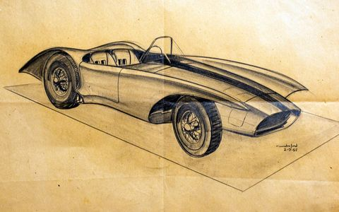 "In conjunction with the North American International Auto Show, Detroit's Scarab Club is hosting a special exhibit, ""American Dreaming, Corvette: 7 Generations and Beyond."" Exhibit features include development sketches, models and technical drawings of various generations of the Corvette, some of it rarely seen."