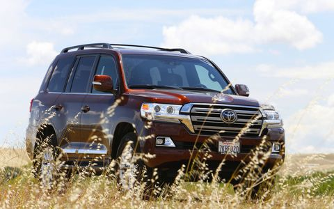 The members of the LeMons Supreme Court felt like genuine warlords, riding around the track grounds in this Land Cruiser.